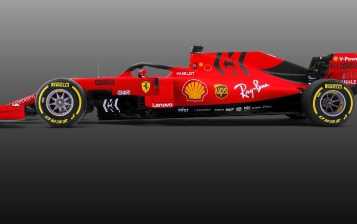 Ferrari SF90 profile
