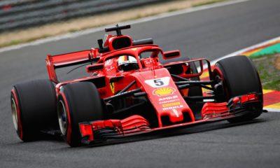 Ferrari proved unbeatable in Belgium