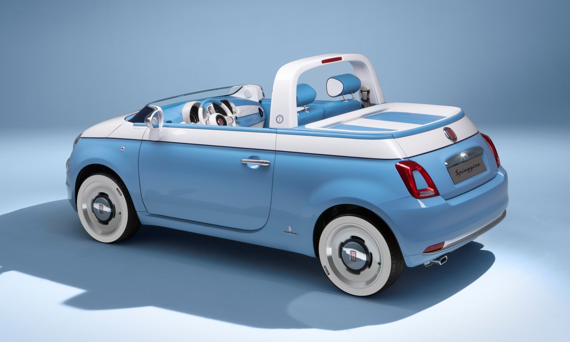 Fiat 500 Spiaggina rear