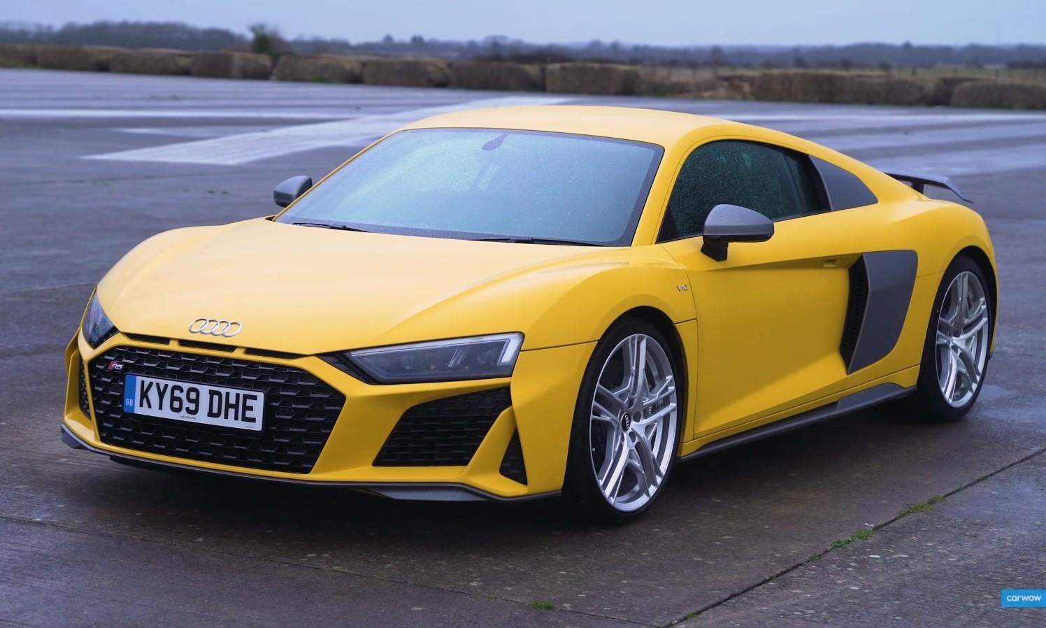 Five Coupe Drag Race Audi R8