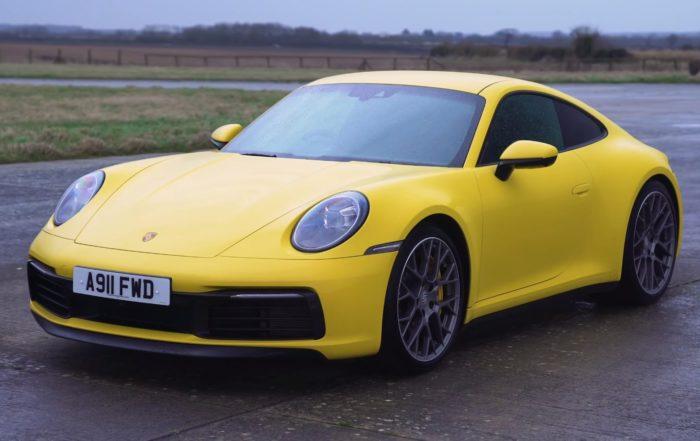 Five Coupe Drag Race Porsche 911