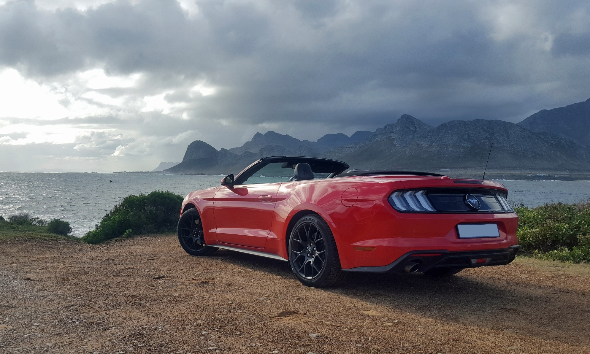 Ford Mustang Convertible rear