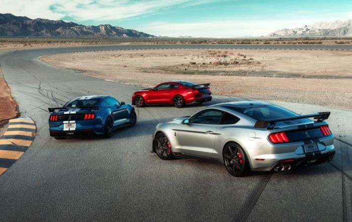 Mustang Shelby GT500 family