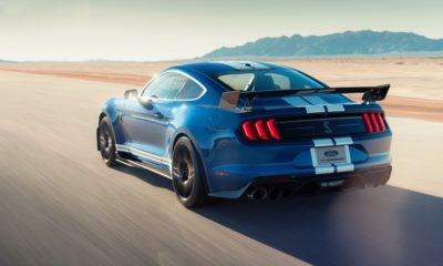 Mustang Shelby GT500 rear