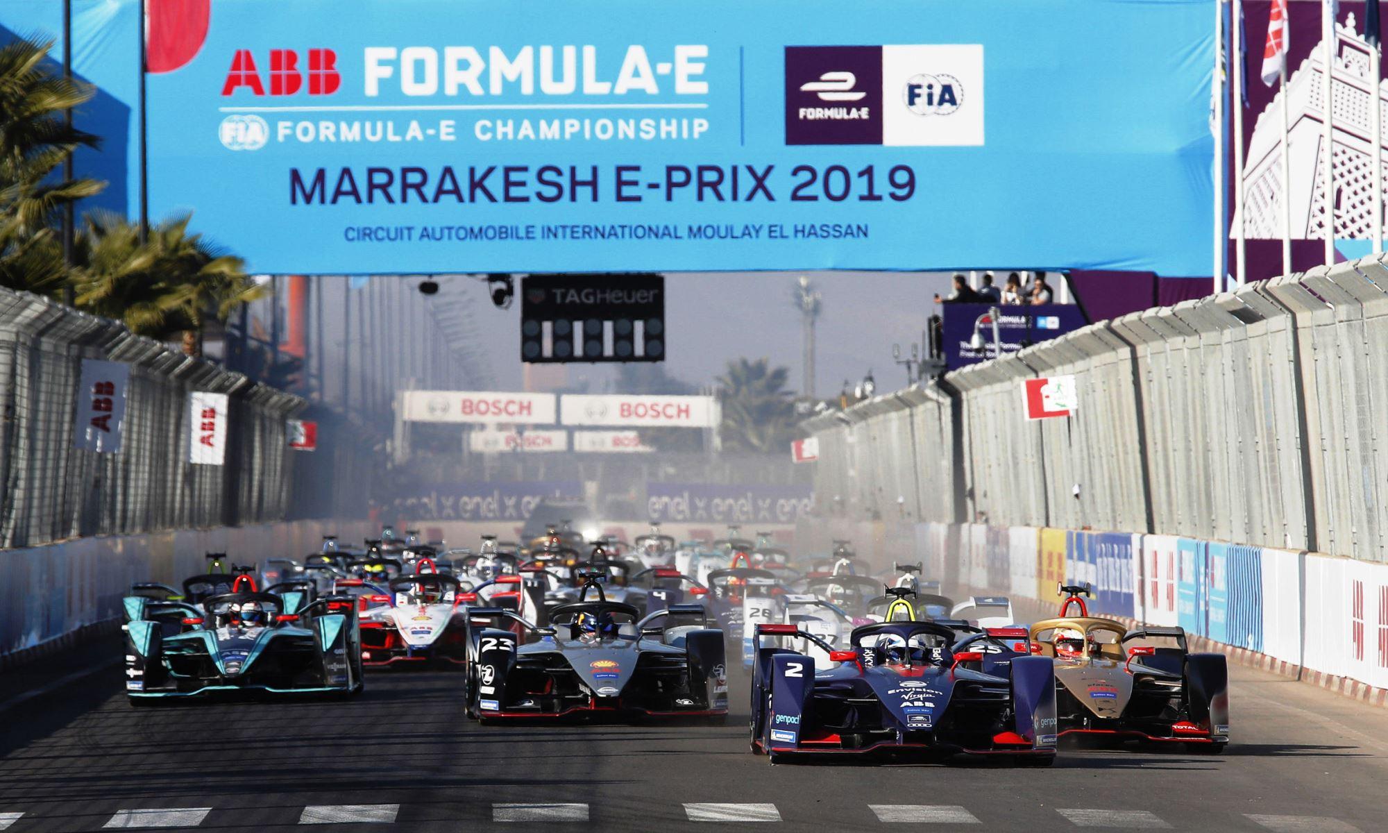 Formula E in Morocco