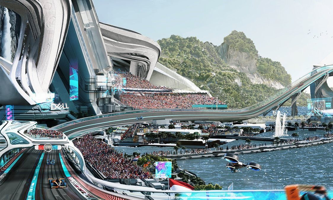 McLaren Future Grand Prix racetrack