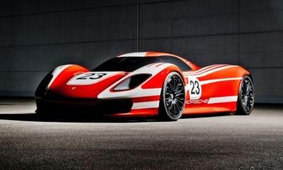 Future Porsche hypercar concept