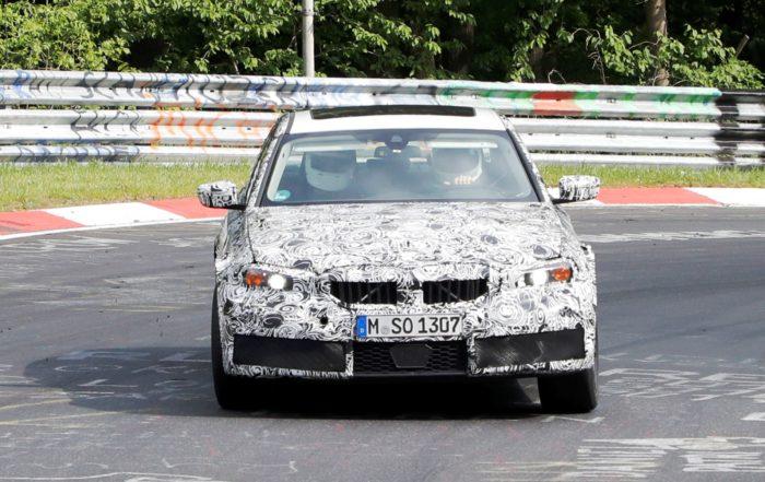 G80 BMW M3 slide