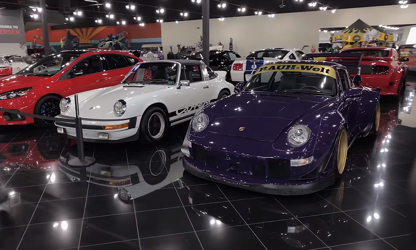 GAS Car Collection Porsches
