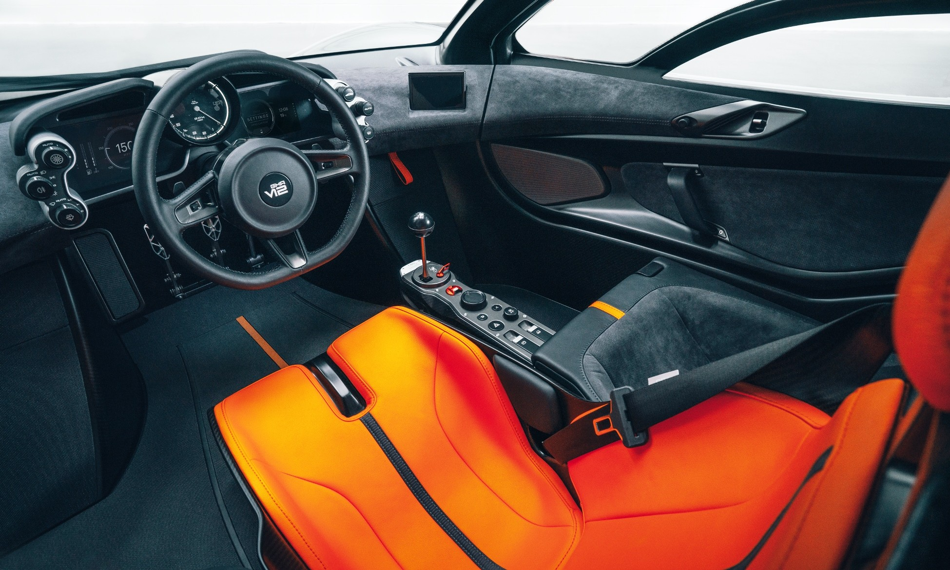 GMA T.50 Supercar interior