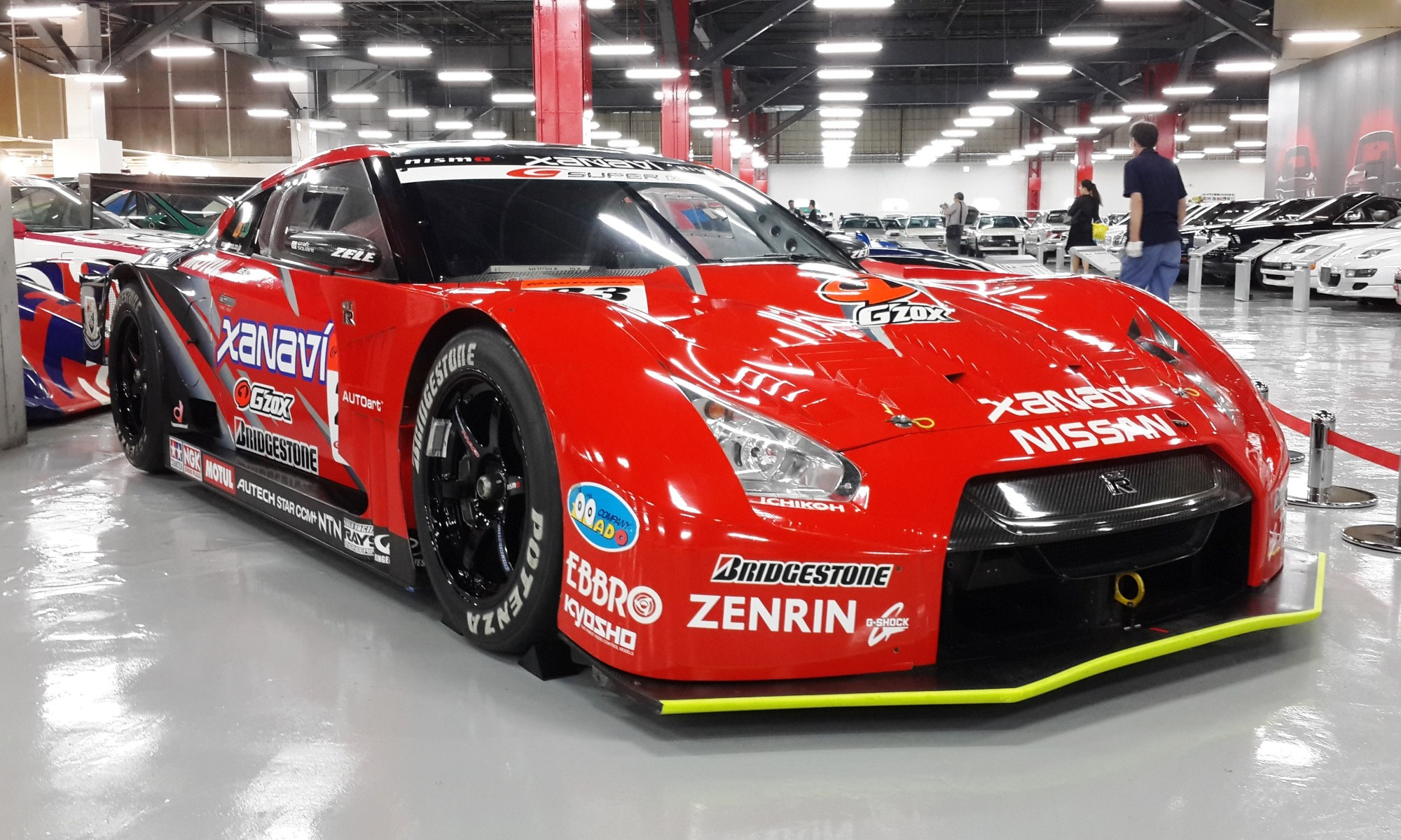 GTR35 racecar from the Japanese Super GT series