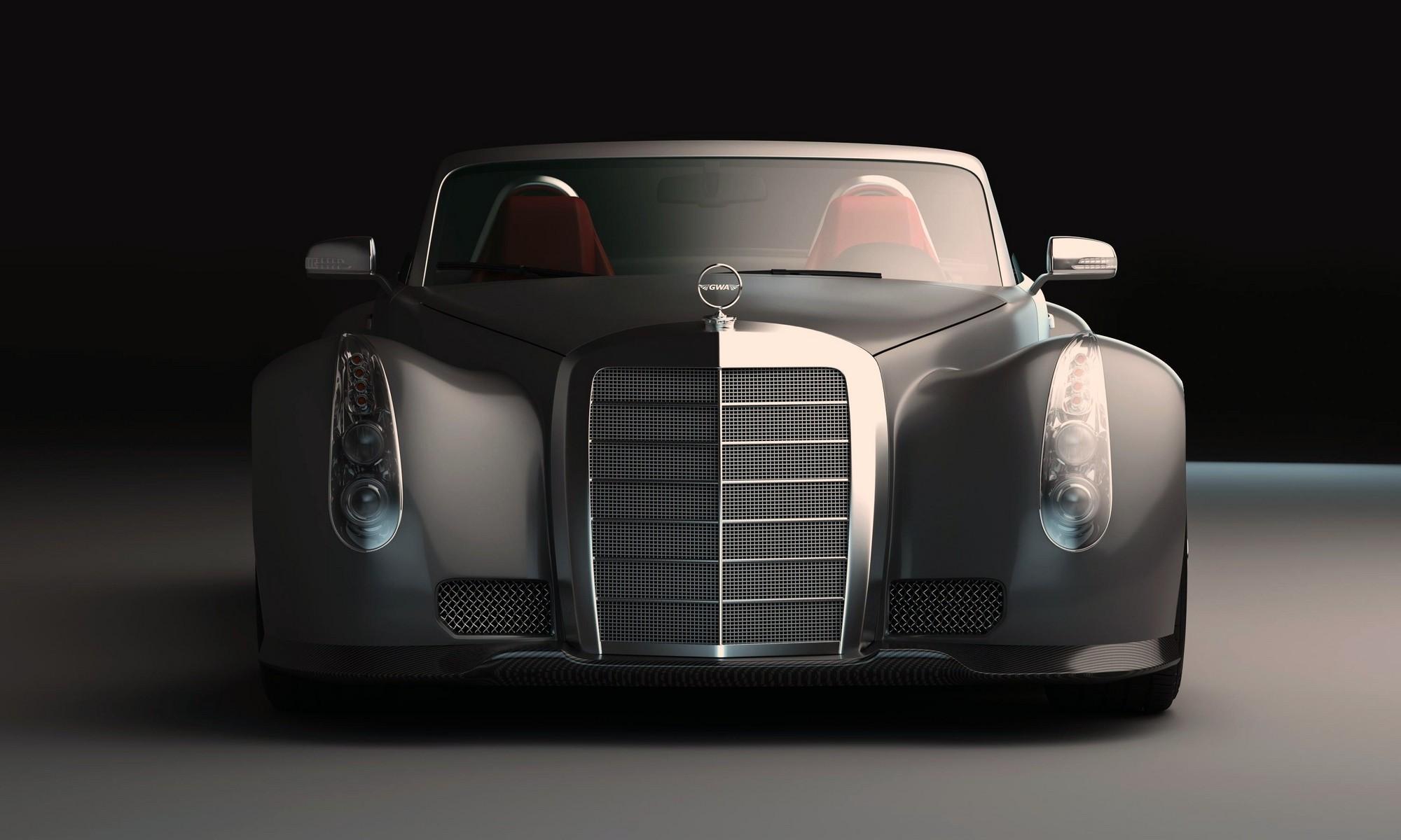 GWA Mercedes-Benz 300SLC front