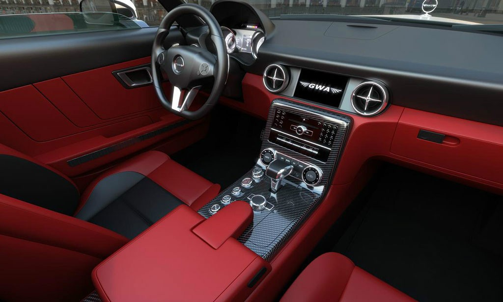 GWA Mercedes-Benz 300SLC interior