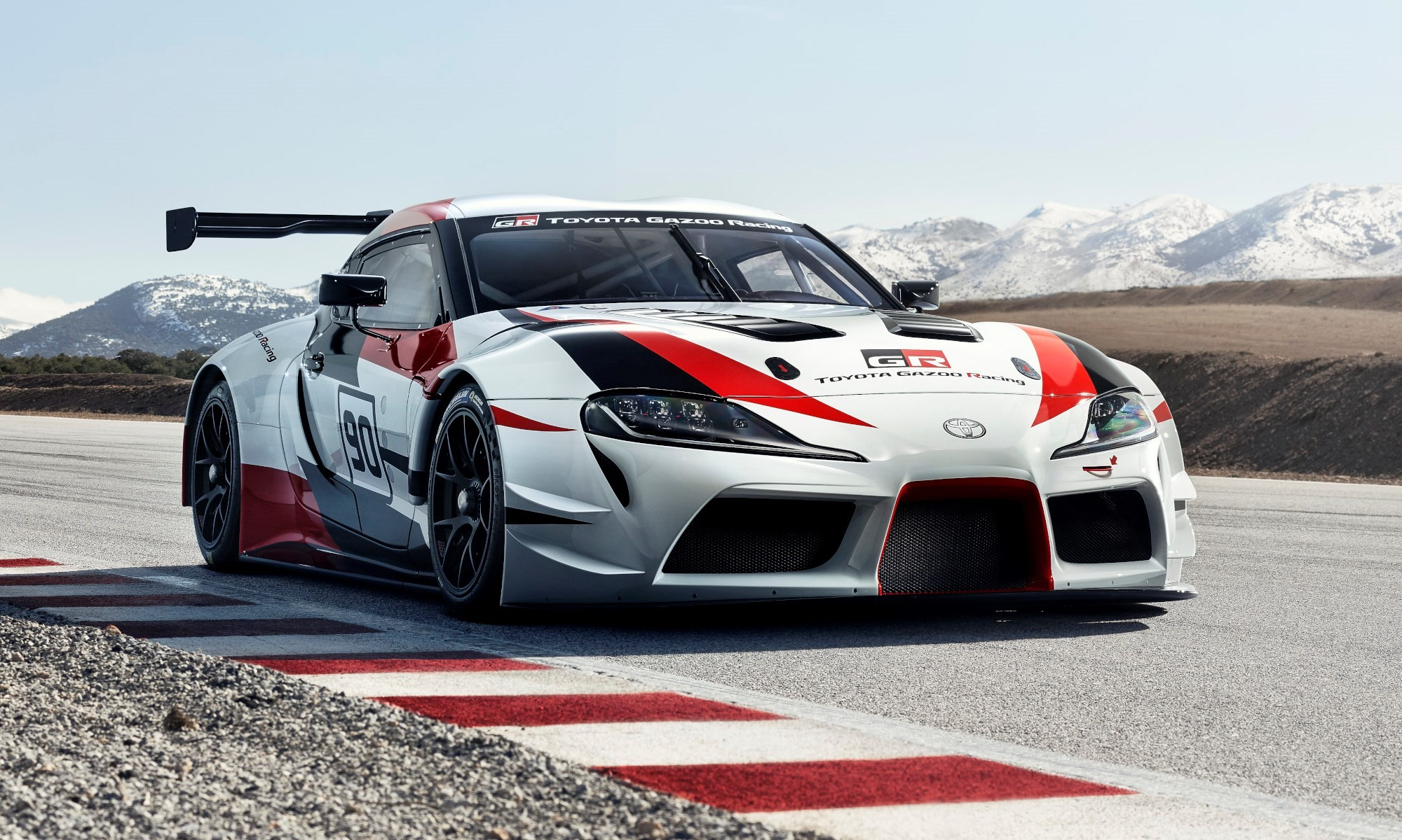 The Gazoo Racing Toyota Supra concept will also be on display at Goodwood