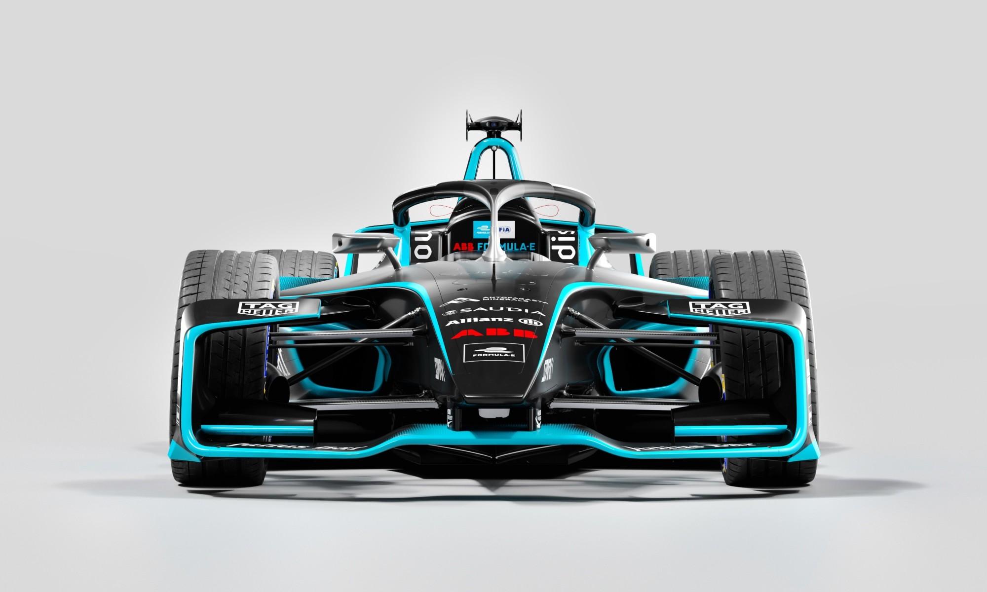 Gen2 Evo Formula E Car front