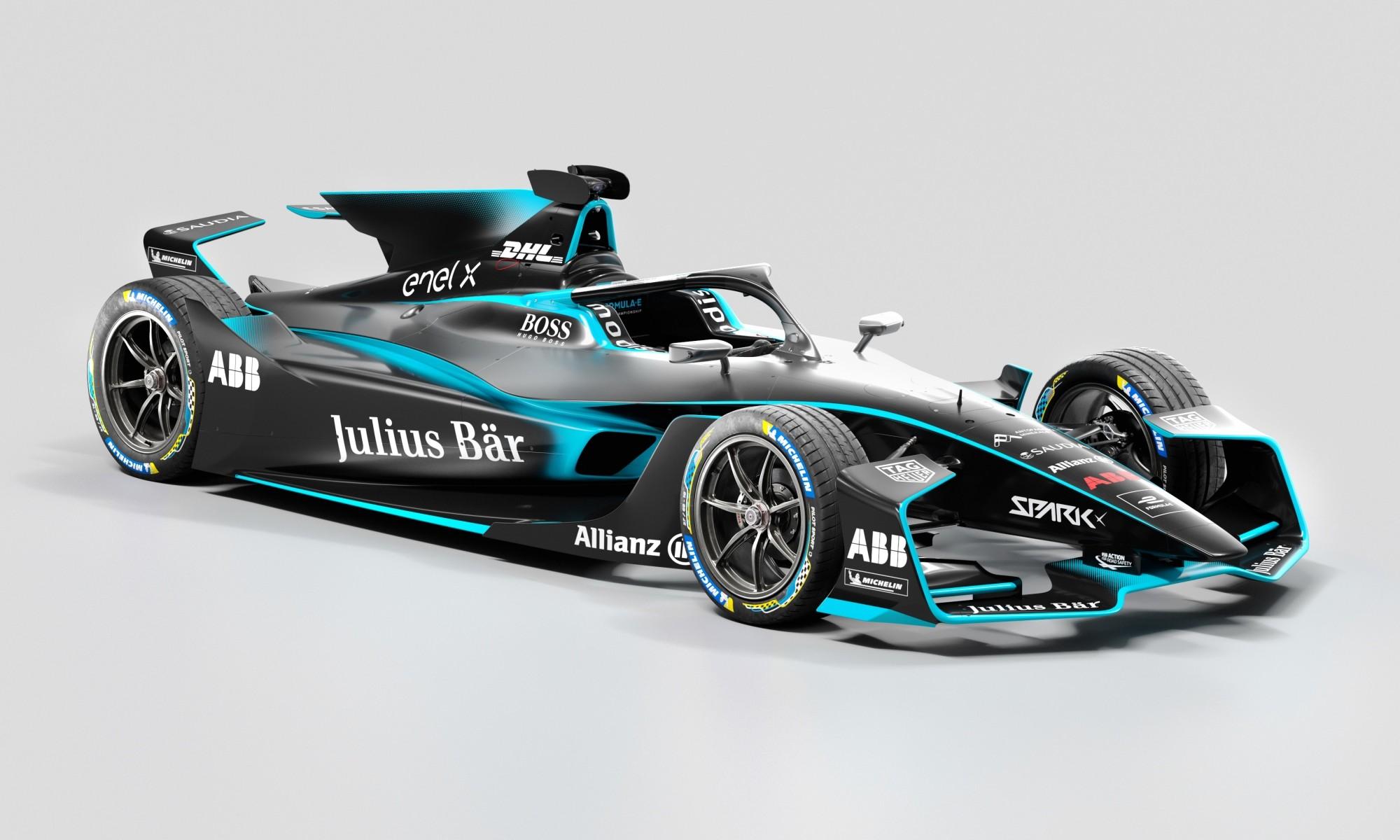 Gen2 Evo Formula E Car