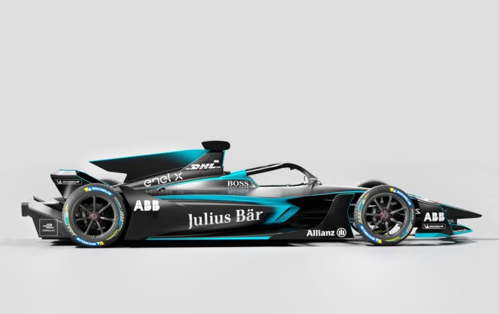Gen2 Evo Formula E Car profile