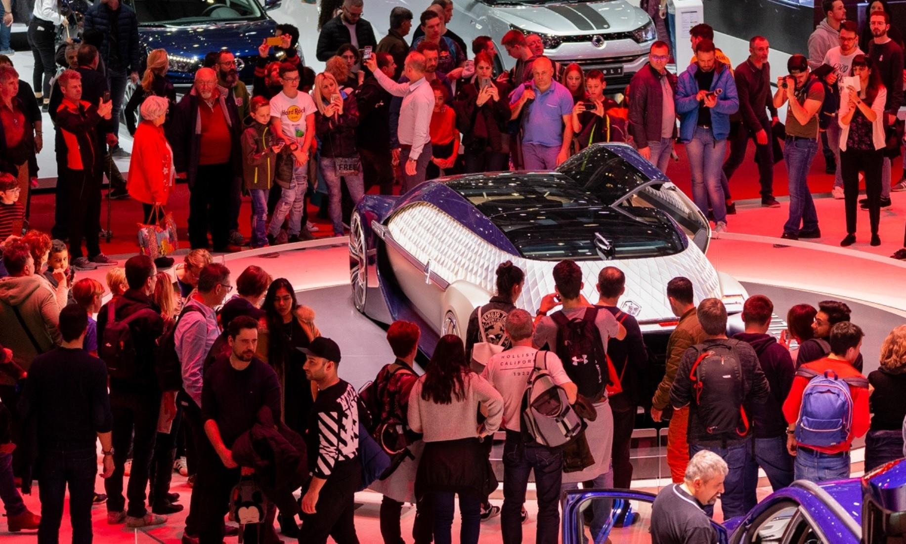 2019 Geneva Motor Show crowds