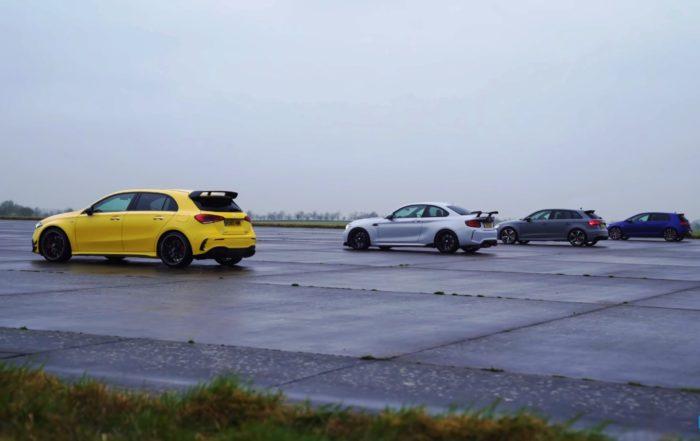 German Compact Drag Race rear