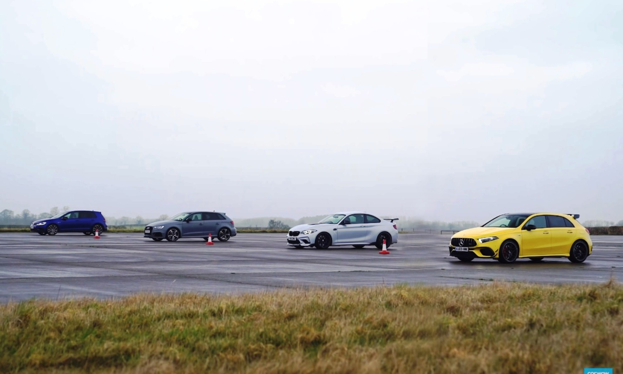German Compact Drag Race