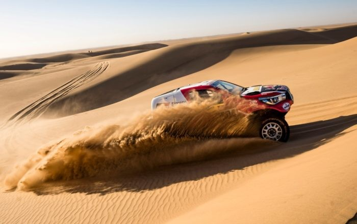 Giniel de Villier finished 2020 Dakar Stage 8 in fourth place