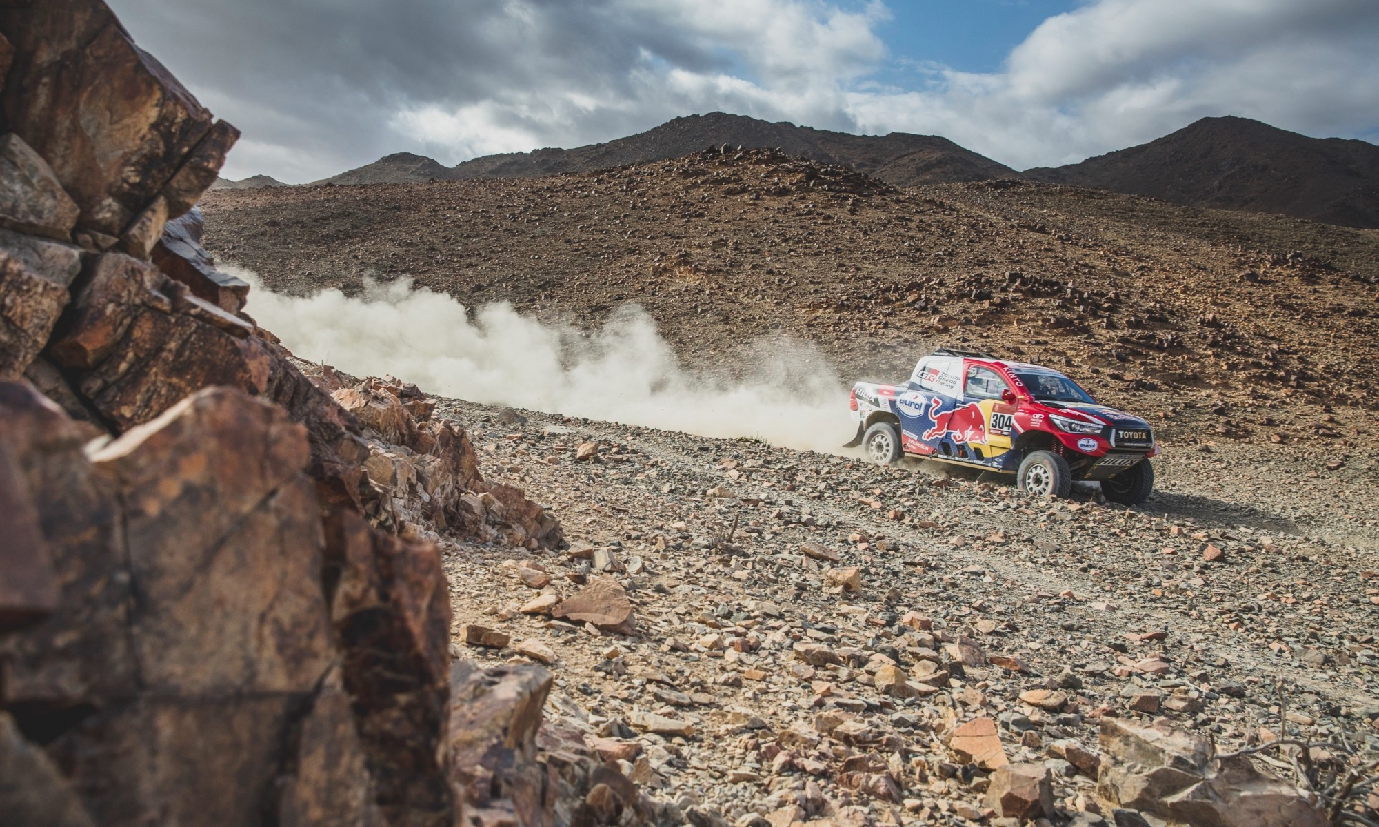 Giniel de Villier finished 2020 Dakar stage 5 in sixth place.