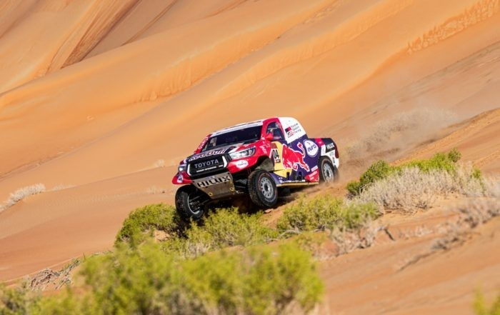 Giniel de Villiers finished sixth on 2020 Dakar Stage 11
