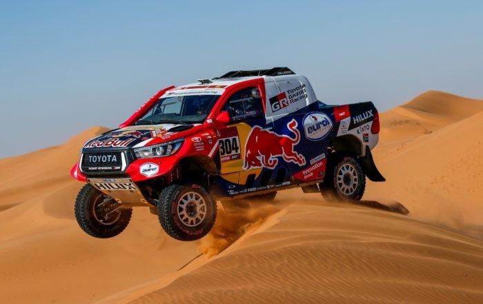 Giniel de Villiers had a good result on 2020 Dakar Stage 12