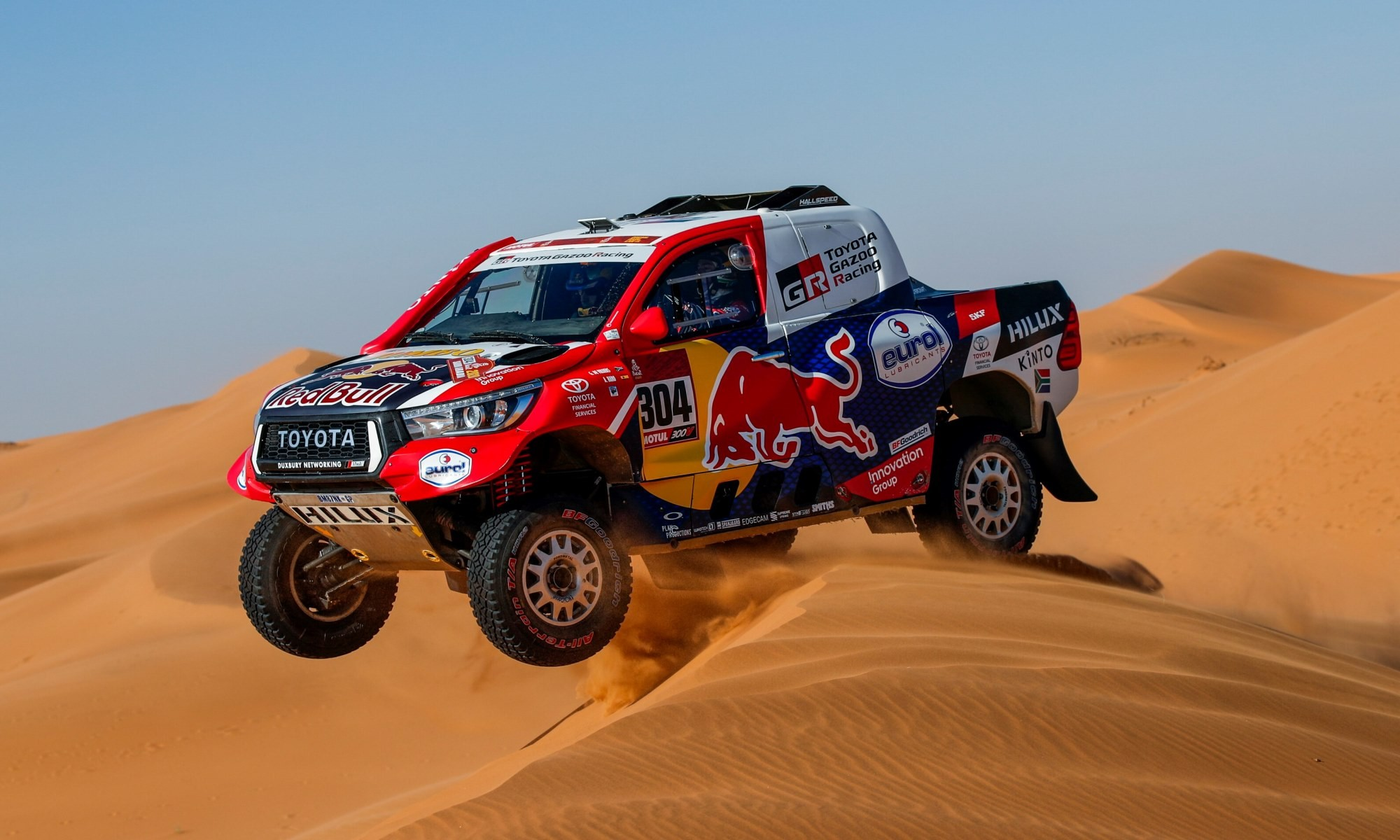 Giniel de Villiers had a good result on 2020 Dakar Stage 12