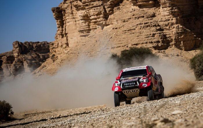 Giniel de Villiers on 2020 Dakar Stage 9