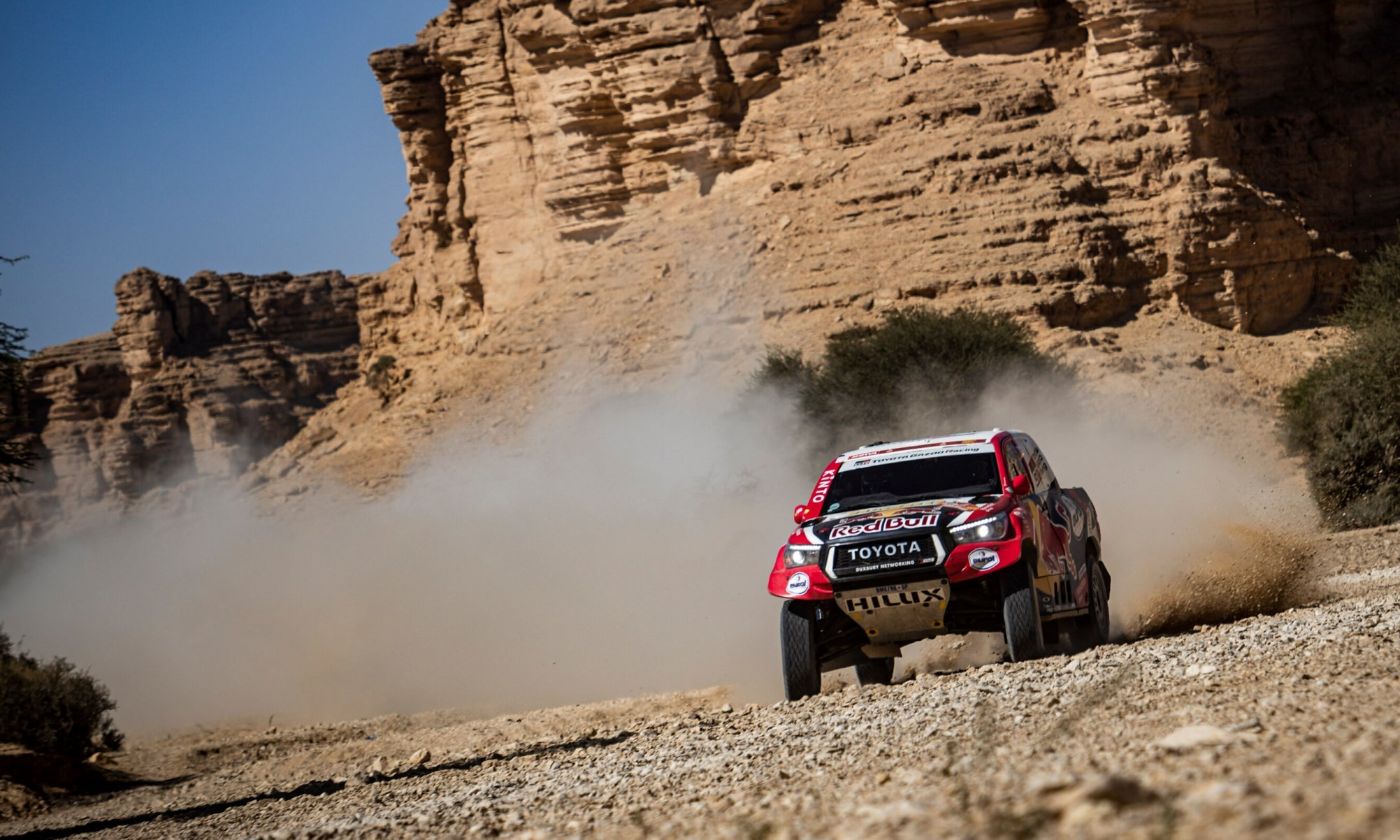 Giniel de Villiers on 2020 Dakar Stage 9