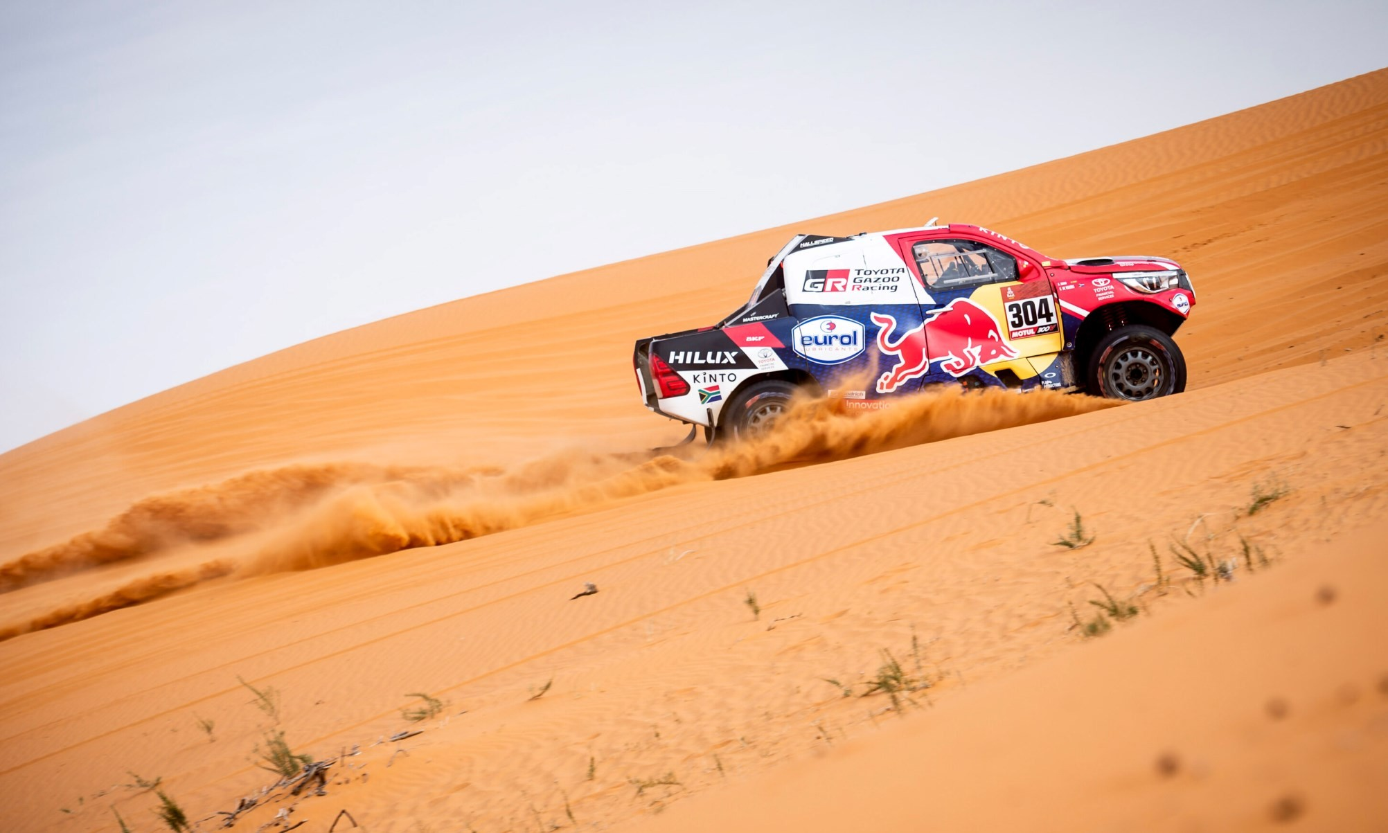 Giniel de Villiers was not quite on the pace on 2020 Dakar Stage 6.