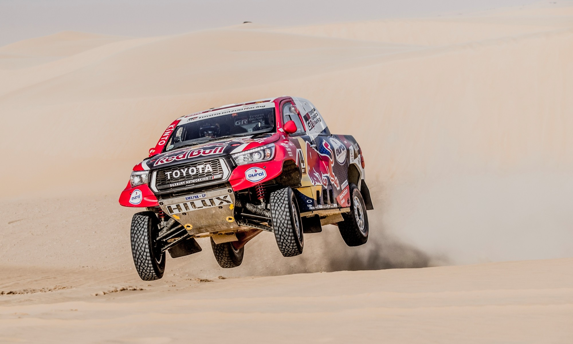 Giniel de Villiers was third on 2020 Dakar Stage 10