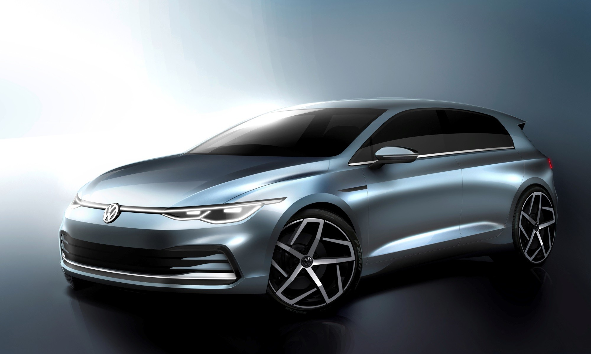 Golf 8 First Official Images