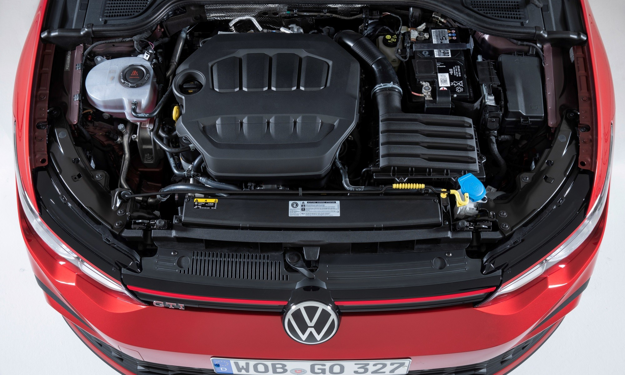 VW Golf 8 GTI engine