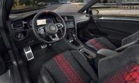 The new Volkswagen Golf GTI TCR interior