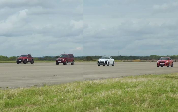 Heavyweight SUV Drag Race