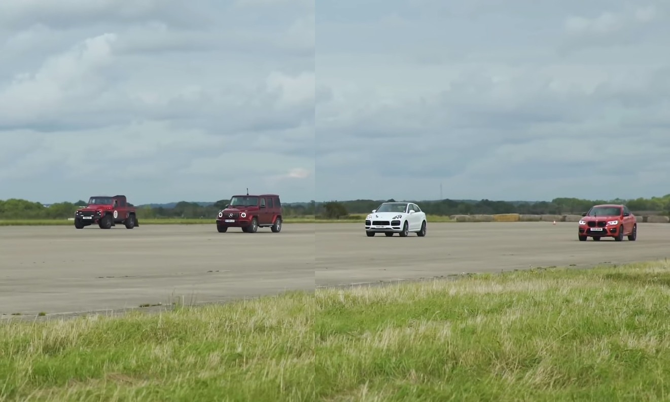 Heavyweight SUV Drag Race