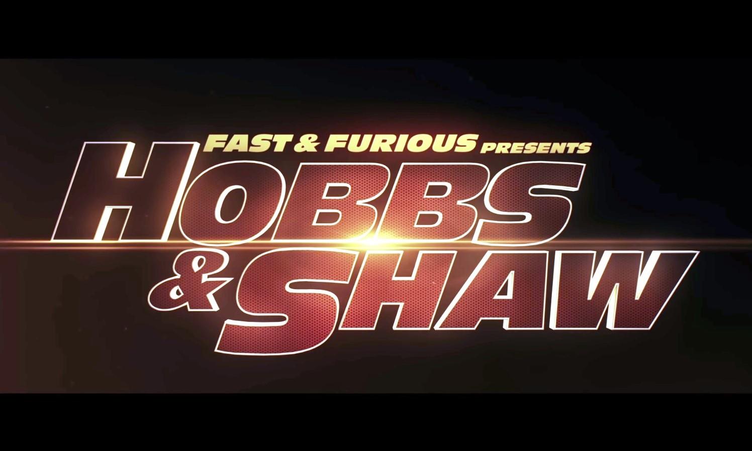 Hobbs & Shaw Trailer poster