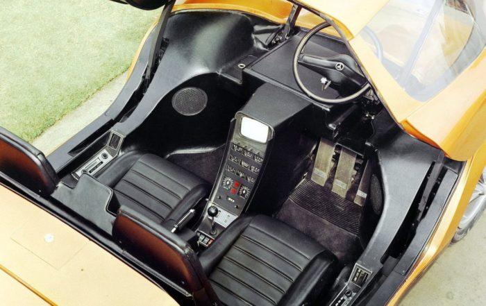 Holden Hurricane Concept interior