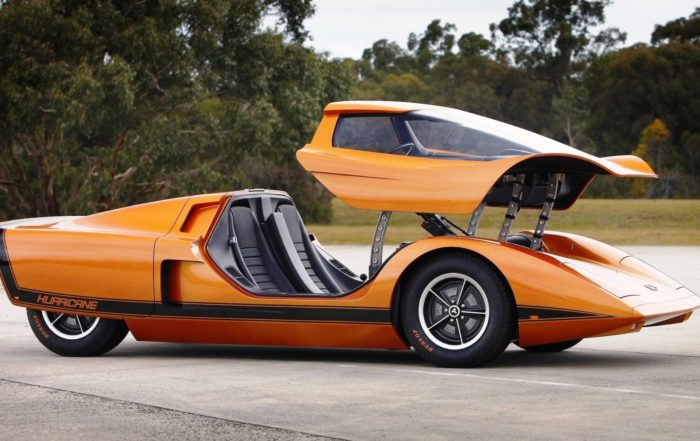 Holden Hurricane Concept roof open