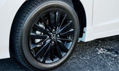 Honda Jazz Sport alloy wheel