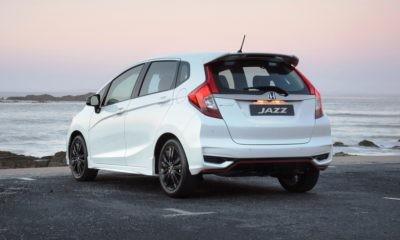 Honda Jazz Sport rear