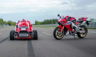 Honda Mean Mower and Fireblade