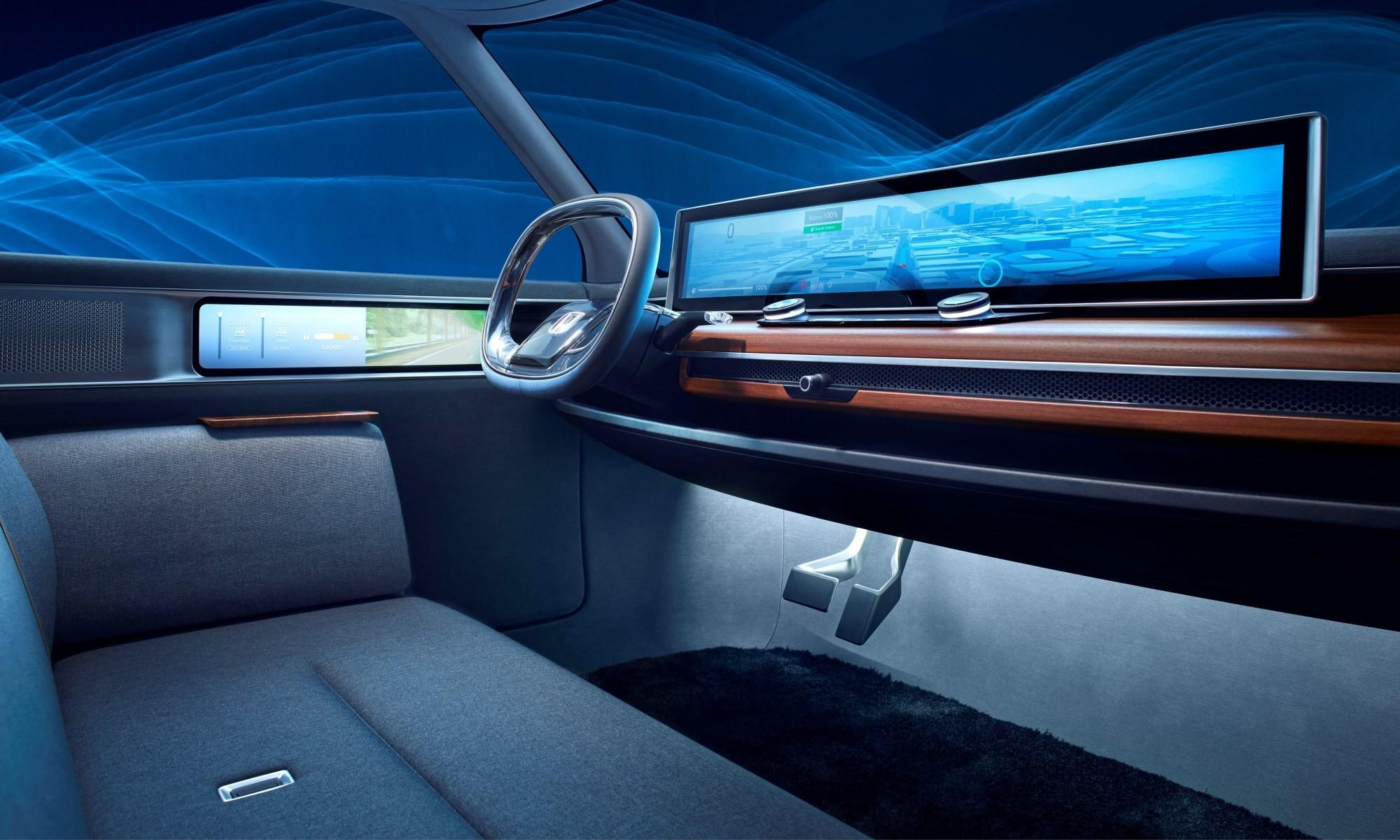 Honda Urban EV Concept cabin