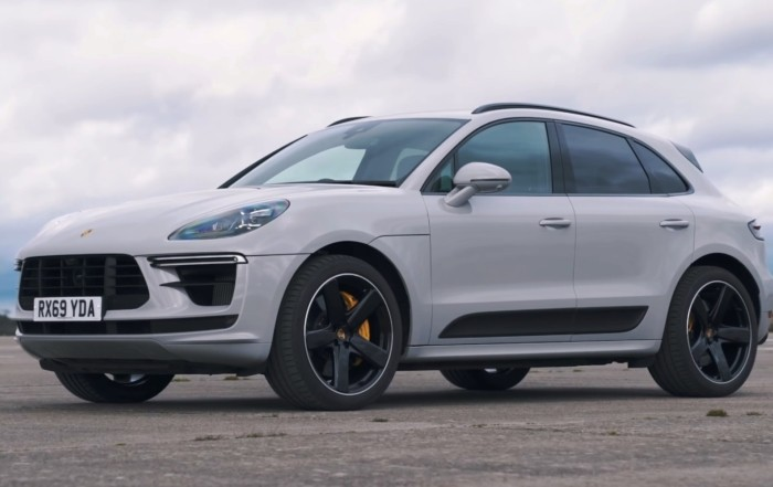 Hot SUV Drag Race Porsche Macan