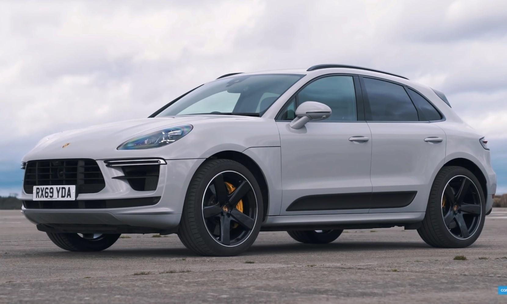Hot SUV Drag Race Porsche Macan