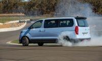Hyundai N Drift Bus burnout