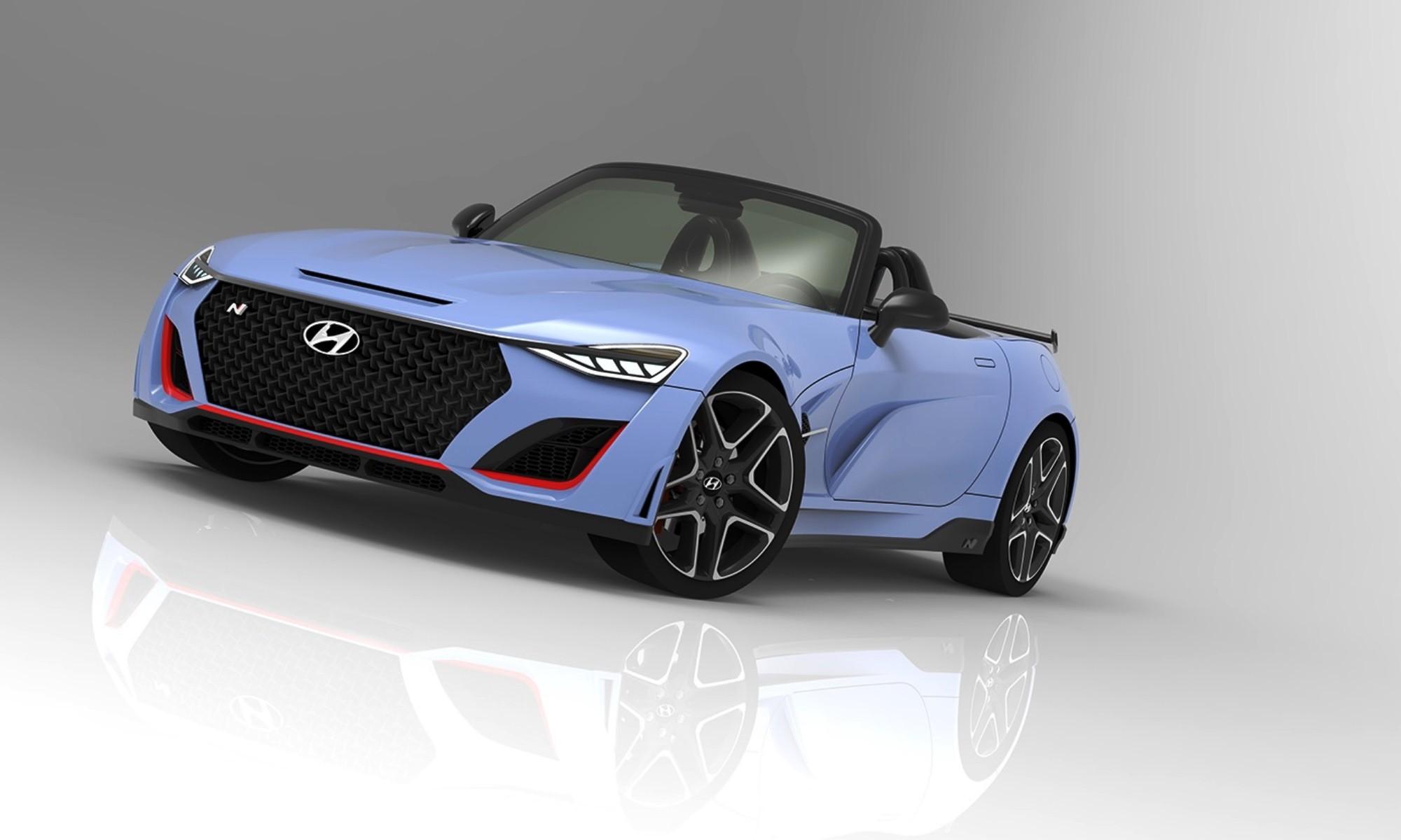 Hyundai N roadster front