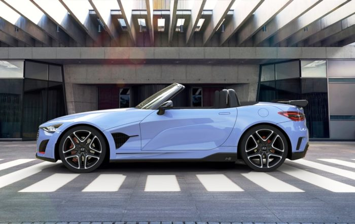 Hyundai N roadster profile